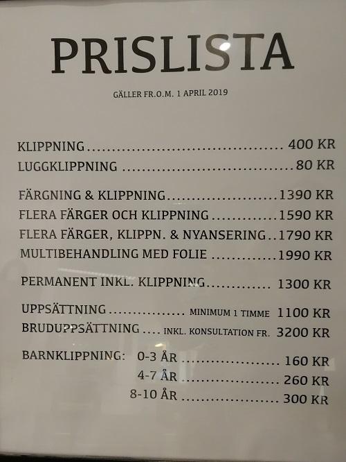 drop in frisör motala